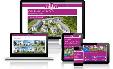 Magnolia Park - strona internetowa nowego osiedla w Gorzowie