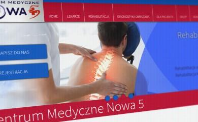 Nowa strona internetowa Centrum Medycznego Nowa 5