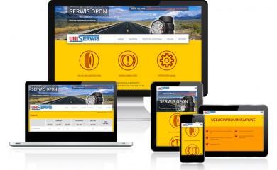 Nowa strona firmy Uniserwis