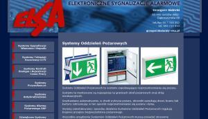 Nowa strona www - ELSA Elektroniczne Sygnalizacje Alarmowe