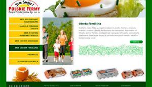 Strona dla firmy Polskie Fermy