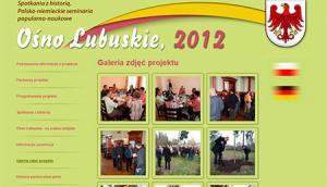 Ośno Lubuskie - spotkania z historią