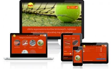 Sklep z akcesoriami do kortów tenisowych